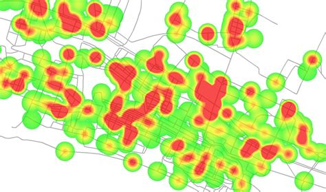 qgis tutorial heatmap qgis continuous buffer image heat map geographic