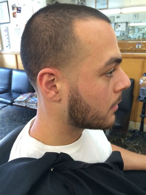 how to taper your beard bald taper with a tapered beard yelp