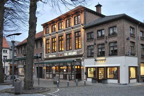 maaseik belgien de beurs brasserie restaurant feestzalen belgisch