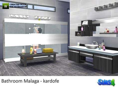 bathroom malaga bathroom malaga by kardofe at tsr 187 sims 4 updates