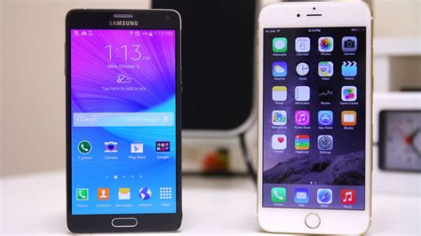 iphone 6s plus vs samsung galaxy note 5 which phablet is the winner neurogadget