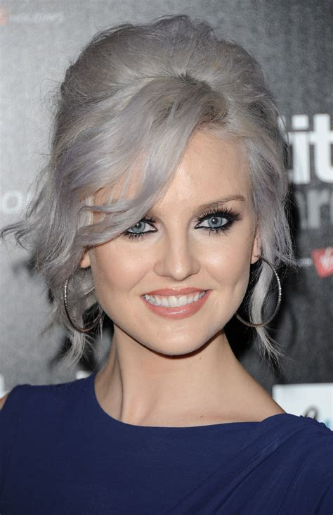 hairstyles for gray hair 2011 perrie edwards photos photos attitude magazine awards