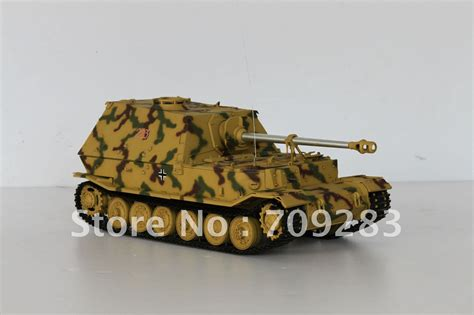 1 16 rc elephant jagd panzer tank model kit need assemble
