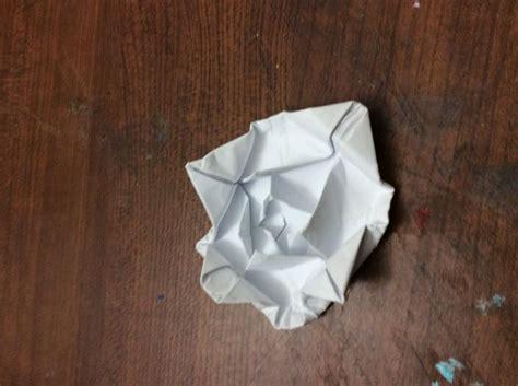 membuat origami bunga lotus how to make a simple origami lotus flower 14 steps