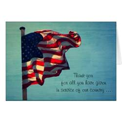 veterans day thank you greeting card zazzle
