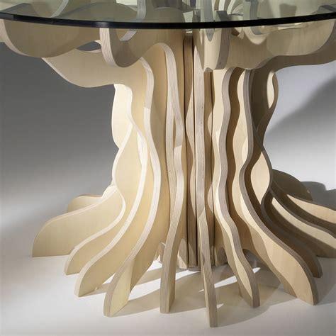 tavolo da pranzo in cristallo tavolo da pranzo tondo in legno con piano in cristallo