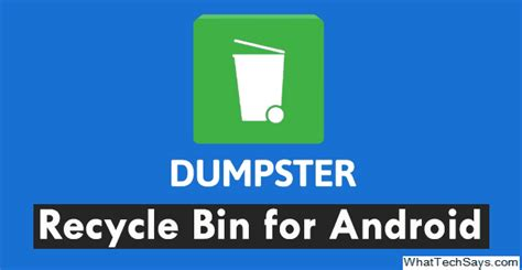 recycle bin for android recycle bin for android phones