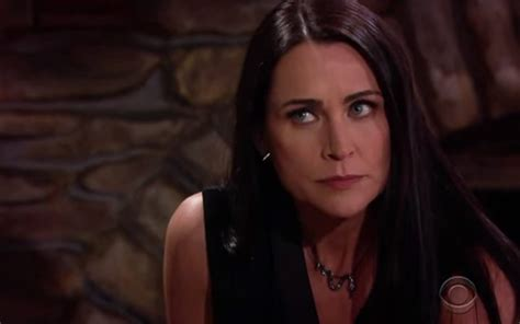 rena sofer hair cut on bold and beautiful b b s deacon to quinn quot you are evil and manipulative