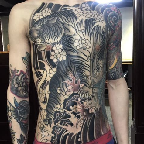 tattoo artist in korea horiyume 434 tattoo