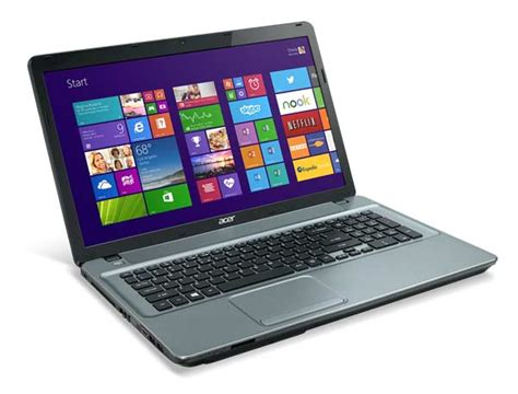 Laptop Acer Aspire E1 Series acer aspire e1 771 17 3 inch laptop iron intel i3 2 4ghz 6gb ram 750gb hdd dvdsm dl