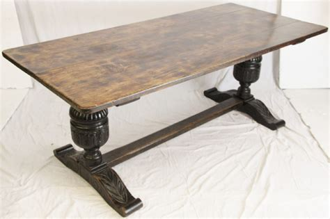 Oak Refectory Dining Table Oak Refectory Dining Table 270207 Sellingantiques Co Uk