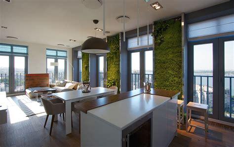 Apartment Vertical Garden Vertical Gardening Creates An Oasis Inside Contemporary