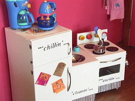 How To Make A Play Kitchen by How To Build Appliances For A Kid S Kitchen How Tos