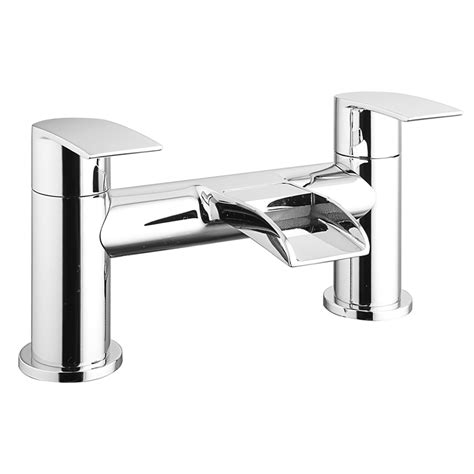 Modern Bathroom Taps Uk Enzo Waterfall Modern Bath Taps Now At Victorian
