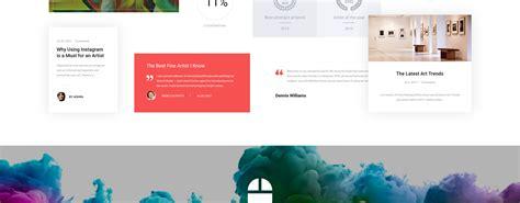 Html5 Artist valerie ryler artist portfolio responsive html5 website