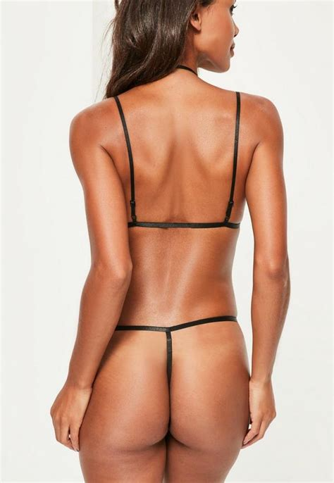 What String To Use For String - black lace string missguided