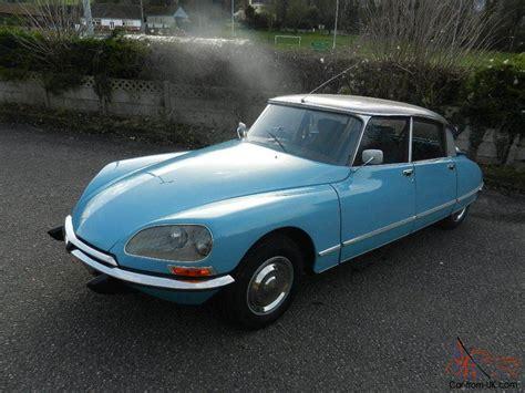 1972 Citroen Ds 20 by Citroen Ds 20 Pallas Rhd 1972