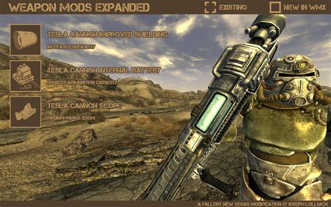 Tesla Cannon Weapon Mods Expanded Fallout New Vegas Weapons Images