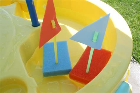 kid craft boats floating sponge boats transportation boating and