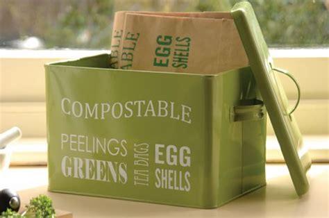 table top compost bin burgon and table top compost bin 163 14 99