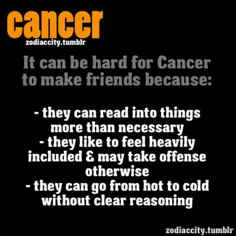 cancer zodiac things that describe mee pinterest