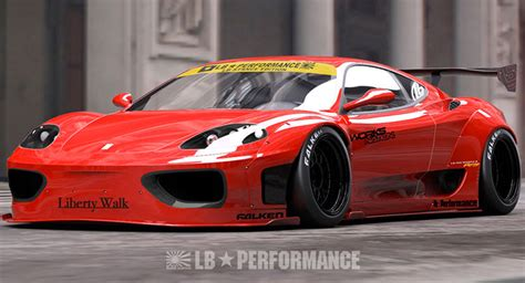 Ferrari 360 Modena Modified by Liberty Walk Still Smitten With The Ferrari 360 Modena