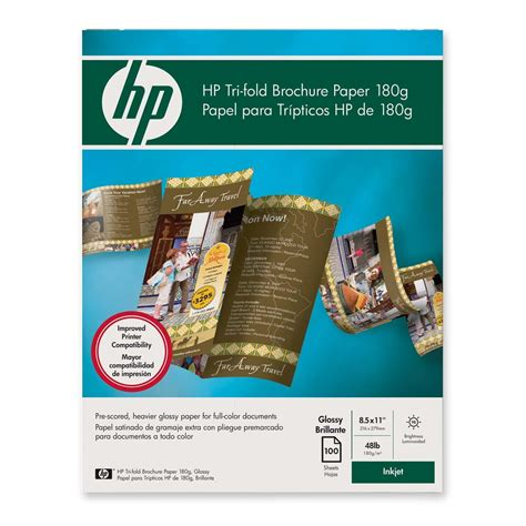 Hp Tri Fold Brochure Paper - printer