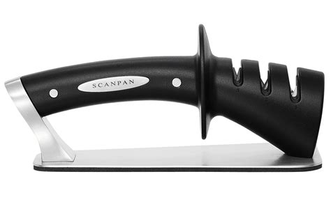 how to use a 3 stage knife sharpener scanpan 3 stage knife sharpener knives knife blocks