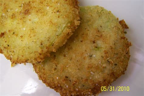 fried parmesan panko parmesan crusted fried green tomatoes tasty