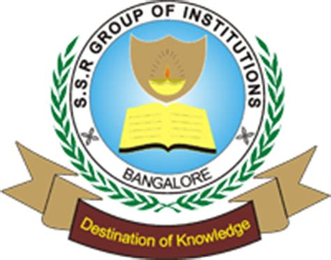 Ssr College Mba ssr college of science and management bangalore ssr bangalore
