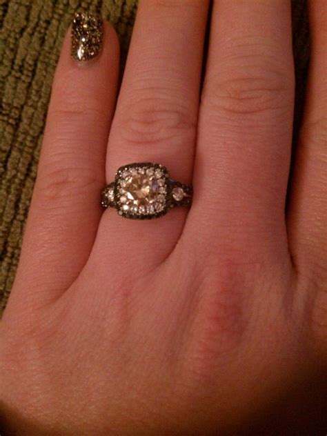 25 chocolate engagement rings ideas on