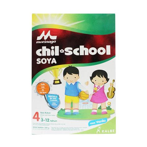 Soya Anak jual morinaga chil school 4 soya vanila formula 300 g harga kualitas terjamin