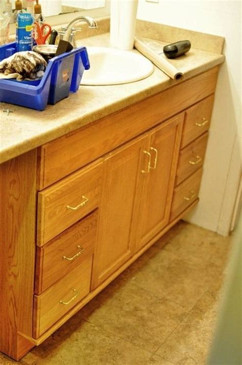 Gel Stain Honey Oak Cabinets by 1000 Images About Stained Cabinets On
