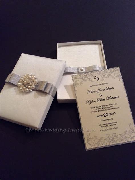 wedding invitations in box wedding d 233 cor how far should you go boxed wedding