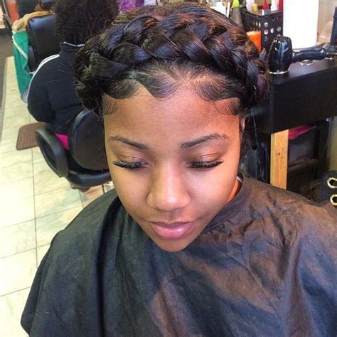 pretty godess braids beautiful goddess crown braid protect your crown