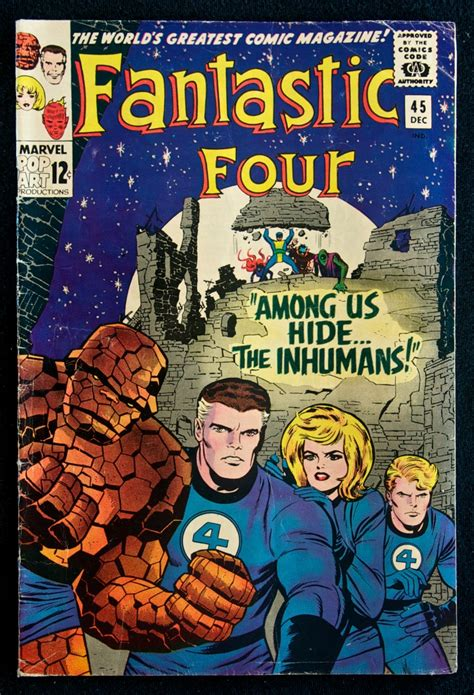 white box fantastic adventure books fantastic four 45 december 1965 quot among us hide the