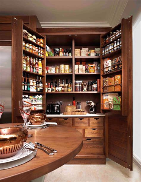kitchen larder cabinet functional and stylish designs of kitchen pantry cabinet
