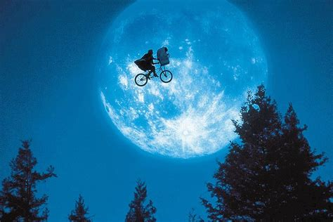 E T Bike Scene by E T Tops Poll Of Studio S Most Memorable Film Scenes