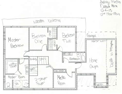 house plan names schematic rough floor plan w sketched details sidney