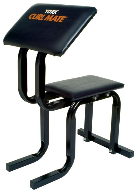 seated curl bench home gym equipment york barbell