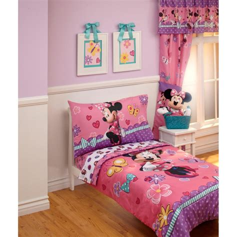 Disney Baby Toddler Girls Bedroom With Minnie Mouse Bedding Set Baby