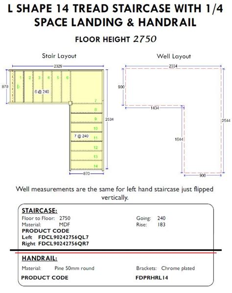 Handrail Requirements Shed Stairs L Shape Staircase With Handrails For Shed