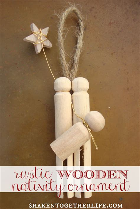 ten easy diy christmas ornaments rustic crafts chic decor
