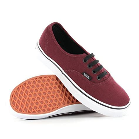 Vans Authentic Classic Maroon vans classic authentic burgundy womens trainers size 7 us
