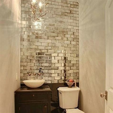mirrored bathroom wall tiles mirrored subway tiles where can i find for my bathroom