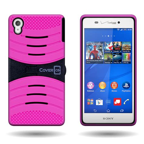 Hardcase Back Cover Rugged Armor Kickstand Sony Xperia Z5 Premium for sony xperia z3 rugged hybrid with kickstand rugged