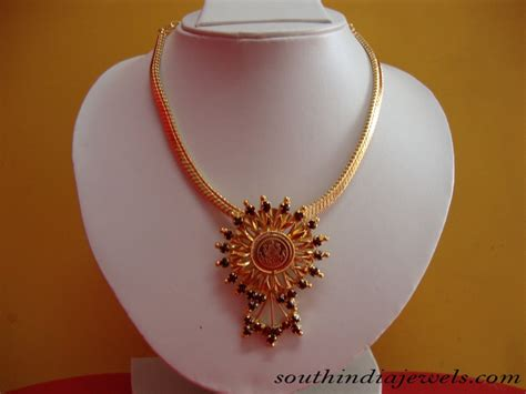 Traditional Gold Jewelry Necklace South India Jewels