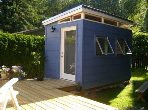 backyard outbuildings backyard bedroom kit 8 x 12 teenage dream modern shed kit