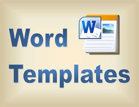 templates on word templates in microsoft word