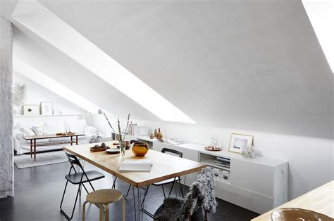 apartment kitchen table stylish studio apartment with a bedroom loft